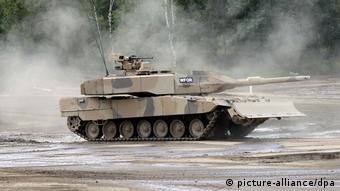 Kampfpanzer Leopard 2 (picture-alliance/dpa)