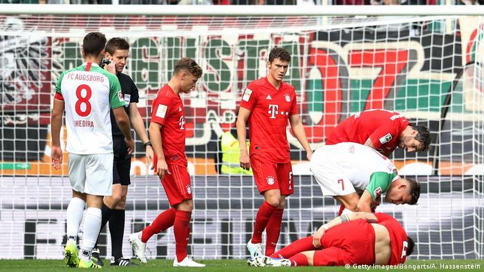 Bundesliga - FC Augsburg v Bayern München Niklas Süle