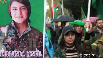 Deutstschland Demonstration Tausender in Köln gegen Einmarsch in Nordsyrien