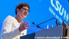 Deutschland CSU-Parteitag 2019 | Annegret Kramp-Karrenbauer