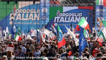 Παλαιότερη κινητοποίηση της Λέγκα και του κόμματος Fratelli d' Italia