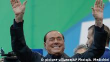 Italien Salvini führt Anti-Regierungsdemo in Rom an | Silvio Berlusconi