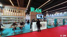 Iranstand auf der Buchmesse