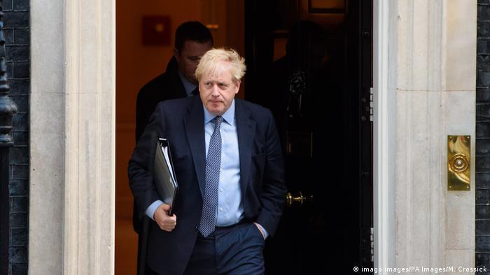 Großbritannien Brexit Boris Johnson (imago images/PA Images/M. Crossick)