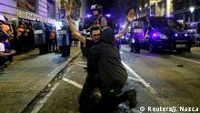 Generalstreik in Barcelona, Katalonien