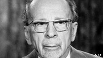 Walter Ulbricht, Staatsratsvorsitzender der DDR - Bild vom 30.12.1971 (Foto: AP)