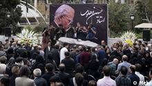 Iran Beerdigung von Hossein Dehlavi, Komponist