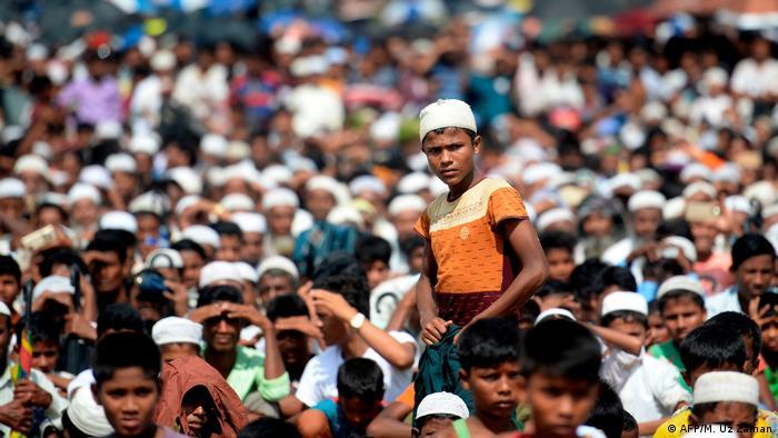 Bangladesch Rohingya Kutupalong Lager (AFP/M. Uz Zaman)