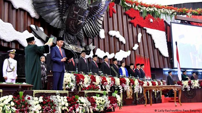 Jakarta Joko Widodo Amtseinführung 2019