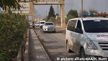 Syrien Kurdenmilizen beginnen Rückzug aus Nordsyrien