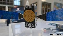 Deutschland Industrie macht sich für Weltraumbahnhof in Deutschland stark   Satellitenmodell