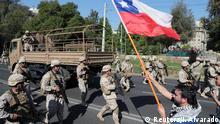 Chile Proteste in Santiago