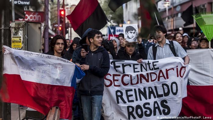 Chile Protest in Osorno