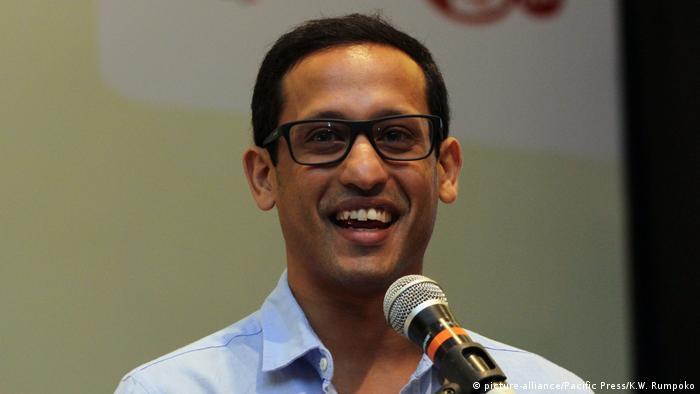 Indonesien Nadiem Makarim CEO von Gojek