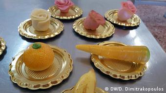 Mερικές από τις γλυκές δημιουργίες των μαθητευόμενων ζαχαροπλαστών