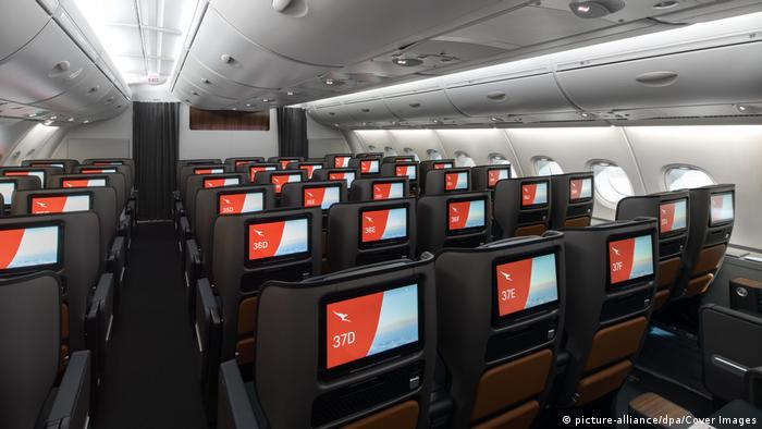 Qantas Airlines (picture-alliance/dpa/Cover Images)