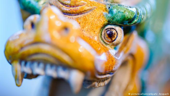 Dragón del Museo Alemán de los Dragones, en Hesse.