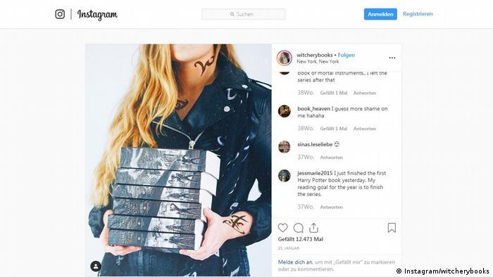 Screenshot von Instagram | Jessi von witcherybooks