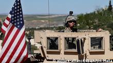 USA setzen Truppenabzug aus Syrien fort