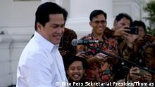 Indonesien Erick Thohir, Geschäftsmann