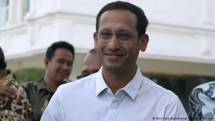 Indonesien Nadiem Makarim, Founder and CEO of Gojek