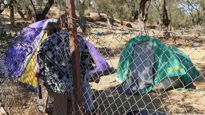 Griechenland Moria Flüchtlingslager auf Lesbos