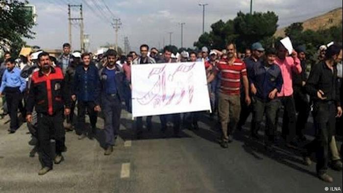 اعتراضات کارگری در آذرآب اراک با بازداشت ۲۱ کارگر