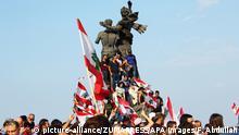 Libanon Protest Demonstranten