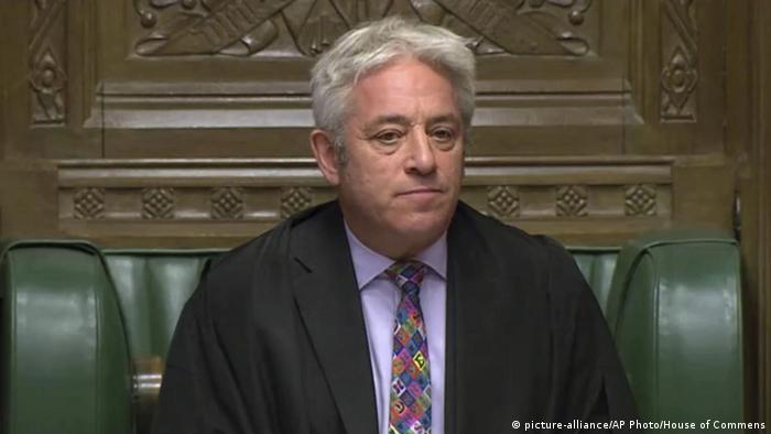 Спікер парламенту Великобританії Джон Берков відмовився винести на голосування угоду про Brexit