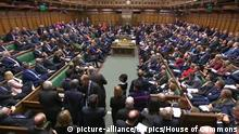 A packed House of Commons chamber in Westminster. (picture-alliance/empics/House of Commons)