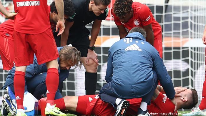 Niklas Süle sufrió una lesión en octubre