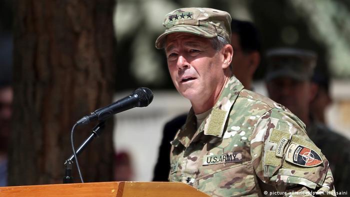 US General Austin Scott Miller in Afghanistan
