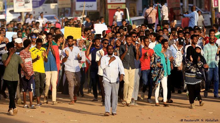 Sudan Proteste in Khartum (Reuters/M. N. Abdallah)