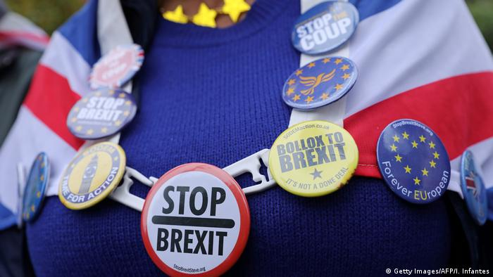 UK London Anti-Brexit Demonstration vor dem Parlament