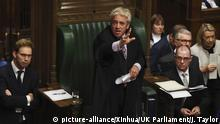 UK London Unterhaus John Bercow
