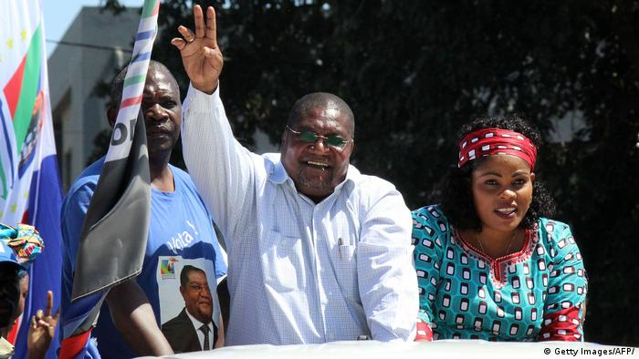 Mosambik Wahlkampd Ossufo Momade