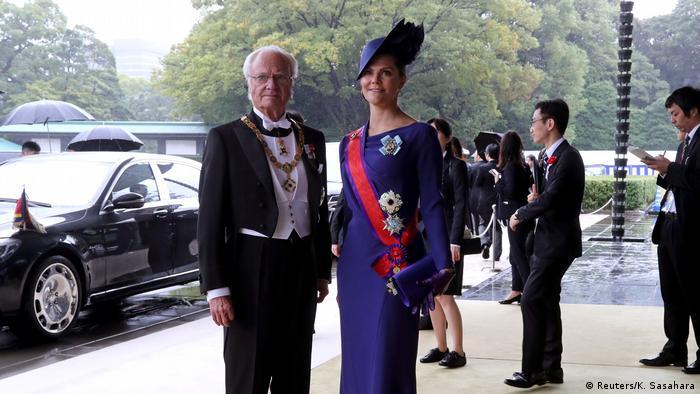 Gäste Thronbesteigung Japan Kaiser Naruhito (Reuters/K. Sasahara)