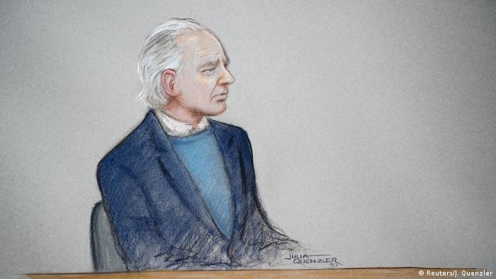 WikiLeaks Julian Assange London Gerichtssaal