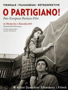 Plakat retrospektive partizanskih filmova u Beču