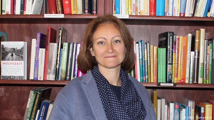 Miranda Jakiša u svom uredu u Beču