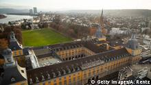 BONN, GERMANY - DECEMBER 18: The Bonn University, Rheinische Friedrich-Wilhelms-Universitaet Bonn including the Hofgarten near the river Rhine is pictured from the City Skyliner on December 18, 2018 in Bonn, Germany. The City Skyliner is the highest and most sizzling mobile observation tower of the world. It's total height of 81 metres makes this unique attraction. (Photo by Andreas Rentz/Getty Images)