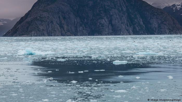La fonte des glaces dans l'Alasaka.