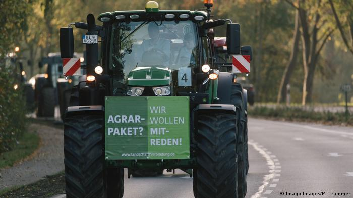 Farmers protest in Hanover
