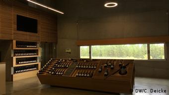 The inside of the Quinta da Teixuga vineyard shop