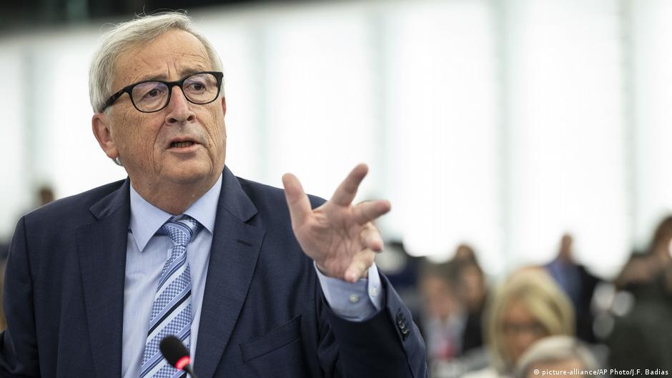 Europäisches Parlament in Straßburg | Jean-Claude Juncker, Präsident der Europäischen Kommission