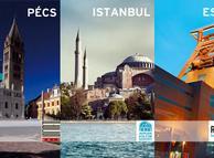 2010 Avrupa Kültür Başkentleri: Pecs, İstanbul, Ruhr Havzası ve Essen.