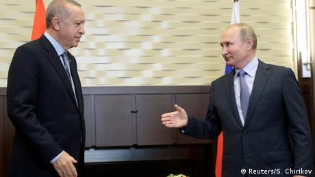 Καθοριστική η συνάντηση Πούτιν-Eρντογάν στο Σότσι