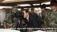 Syrien Habeet, Provinz Idlib | Präsident Baschar al-Assad
