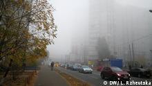 Nebel verschlimmert die Luftverschmutzung in Kiew