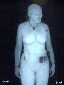 Результат досмотра рентгеновским сканером